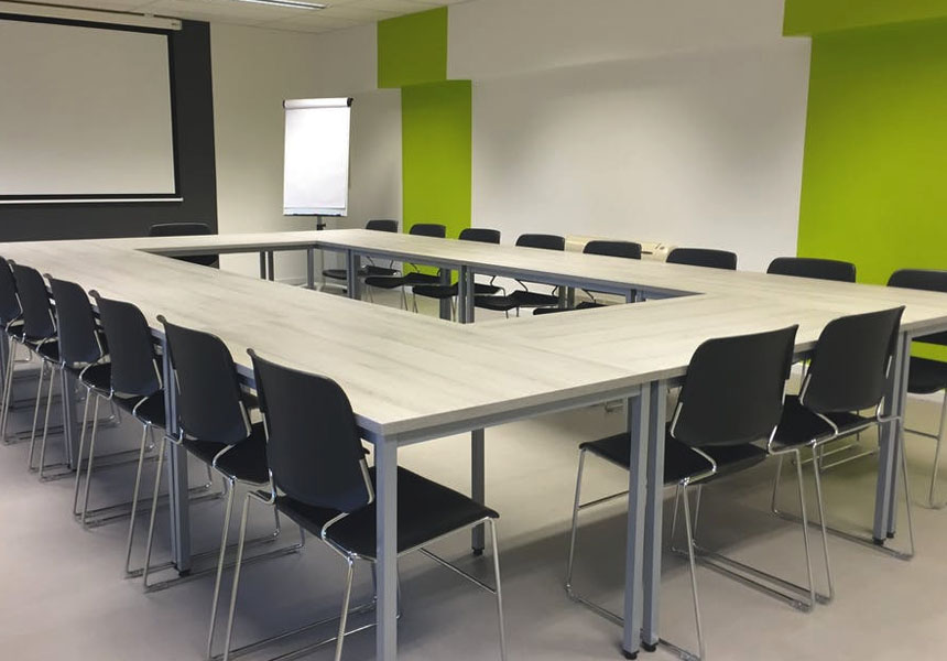 office conference room in northampton following LCS housekeeping visit