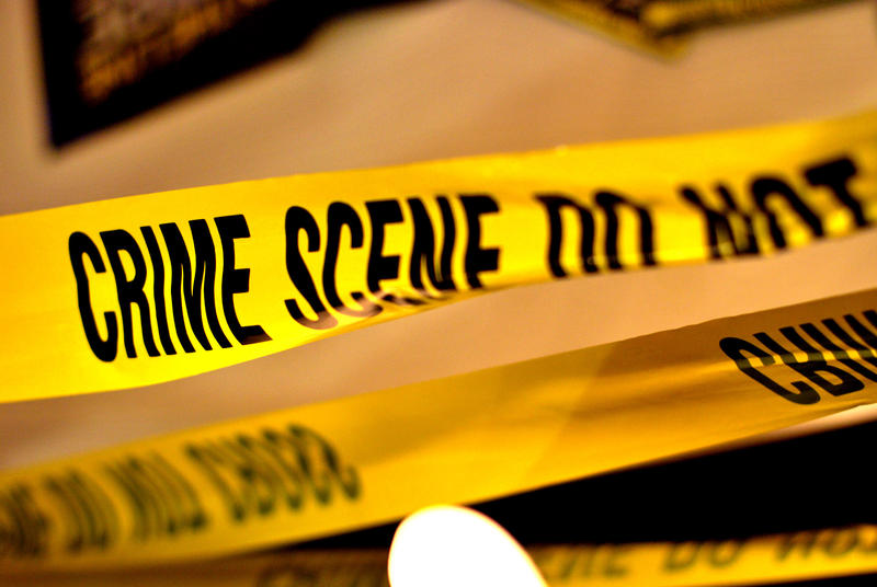 yellow crime scene tape saying 'crime scene do not enter' for crime scene cleaning image
