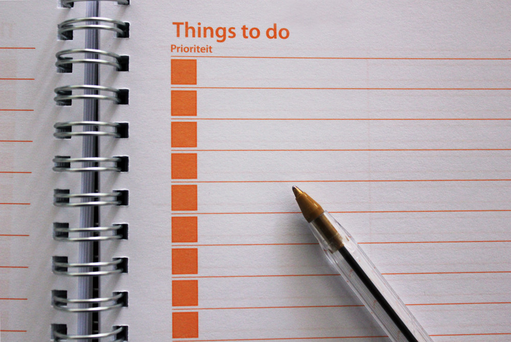 to do list cleaning checklist