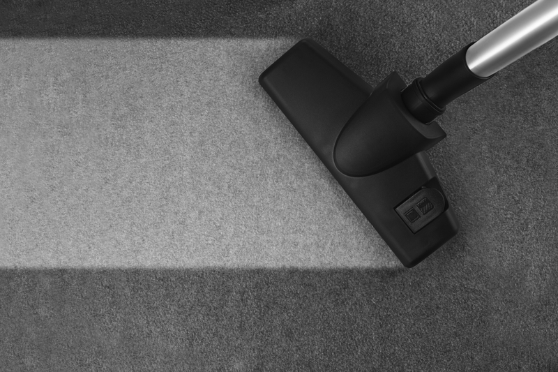 carpet cleaning with hoover
